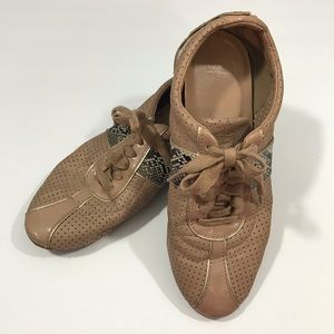Super Cool Cole Haan Snakeskin sneakers s 6b